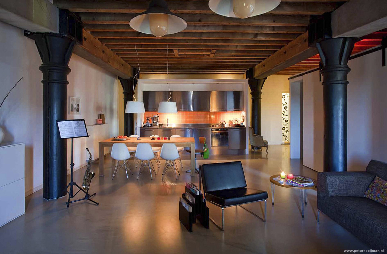 Awesome Loft Interieurs Contemporary - Huis & Interieur Ideeën ...